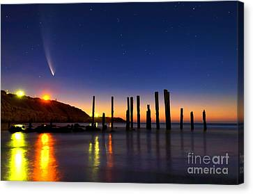 Comet Mcnaughts Canvas Print by Bill  Robinson