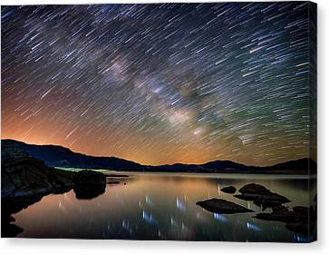 Comet Storm - Colorado Canvas Print by Darren White