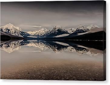 Lake Mcdonald Canvas Print - Lake Mcdonald Glacier National Park by Greg Wyatt