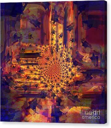 Goree Canvas Print - Comfort In The Sun by Fania Simon