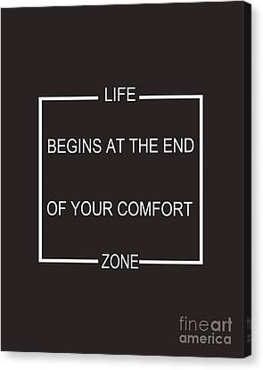 Comfort Zone Canvas Print