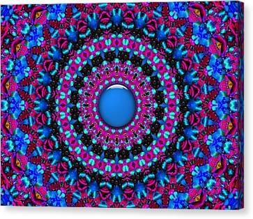 Canvas Print featuring the digital art Comfort Zone by Robert Orinski