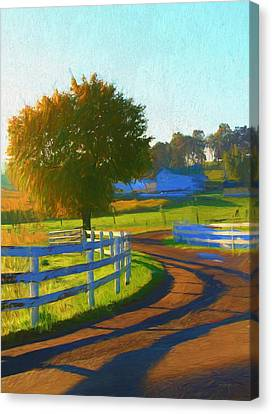 Comfortable Country Morning Canvas Print by Dan Sproul