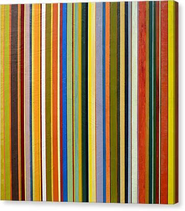 Comfortable Stripes Canvas Print by Michelle Calkins