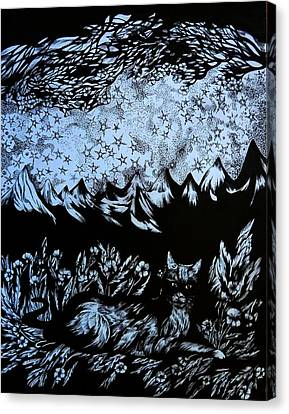 Comforting Zone Canvas Print by Anna Duyunova