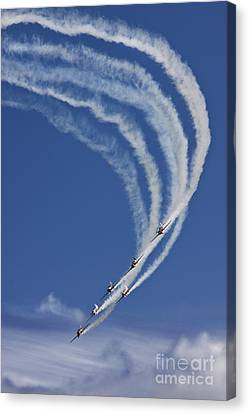 Coming Back From Heaven Canvas Print by Angel  Tarantella