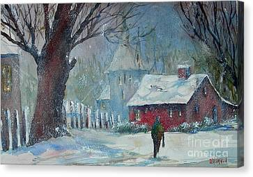 Coming Home 2 Canvas Print by Joyce A Guariglia