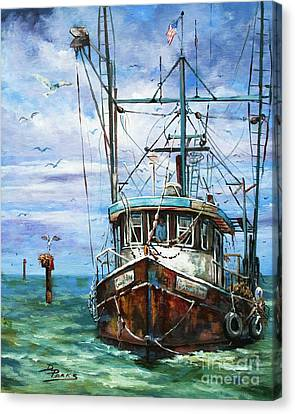Fish Canvas Print - Coming Home by Dianne Parks