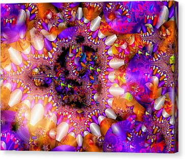 Canvas Print featuring the digital art Coming Home by Robert Orinski