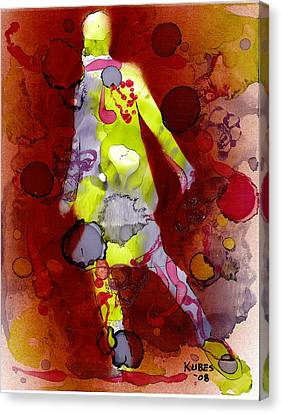 Coming Of Age Canvas Print by Susan Kubes