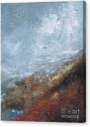 Coming Out Of A Fog Canvas Print by Frances Marino
