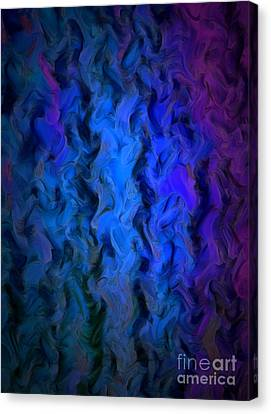 Coming Out Of The Dark Canvas Print by Krissy Katsimbras