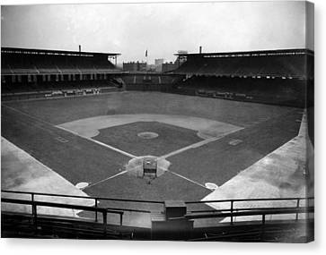 Comiskey Park, Baseball Field That Canvas Print by Everett