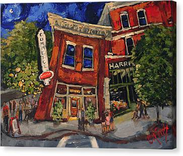 Commerce Kitchen Huntsville Alabama Canvas Print by Carole Foret