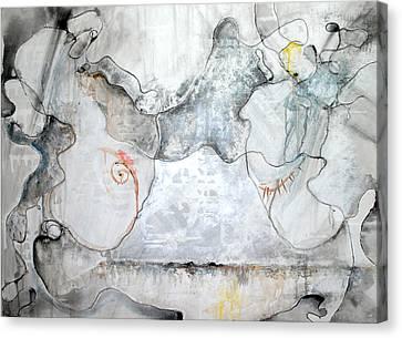 Communion Or The Mystery Of Faithful Love Canvas Print by Elena Petrova Gancheva