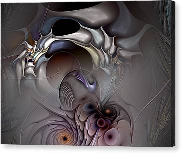 Compartmentalized Delusion Canvas Print by Casey Kotas