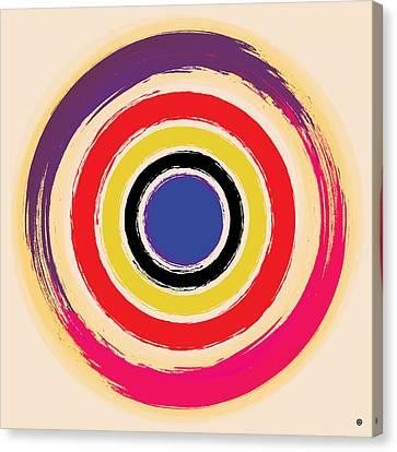 Compass Brush Canvas Print by Gary Grayson