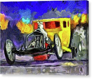 Competition Coupe Van Gogh Canvas Print