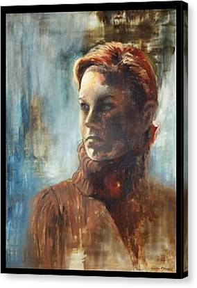Canvas Print - Complacence by Leslie Rhoades