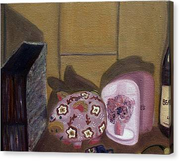Complementary Still Life Canvas Print by Hannah Curran
