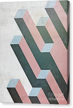 Complex Geometry Canvas Print