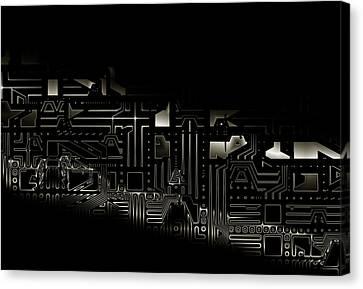 Composite Elements  Canvas Print by Alex Porter