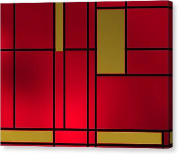 Composition 14 Canvas Print by Alberto RuiZ