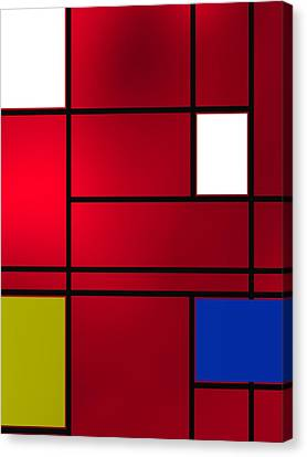 Composition 6 Canvas Print by Alberto RuiZ