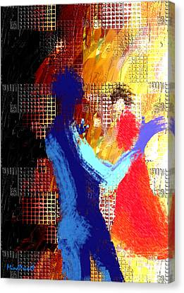 Composition Canvas Print by Asok Mukhopadhyay