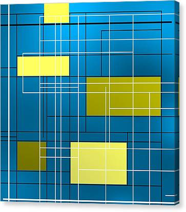 Composition M Canvas Print by Alberto RuiZ