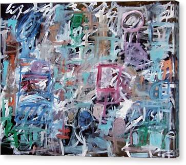Composition No. 1 Canvas Print by Michael Henderson