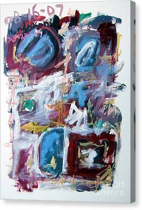 Composition No. 10 Canvas Print by Michael Henderson