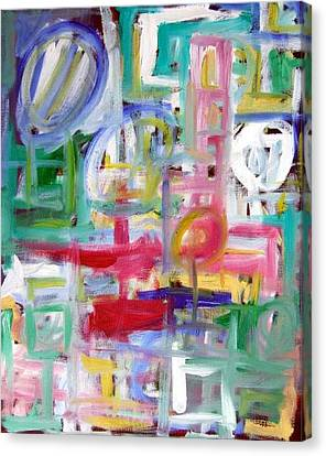 Composition No. 5 Canvas Print by Michael Henderson