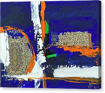 Composition Orientale No 1 Canvas Print by Walter Fahmy