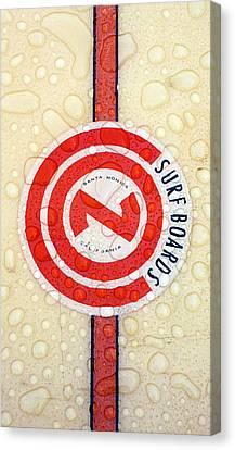 Con Surfboards Canvas Print by Ron Regalado