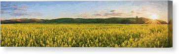 Concede The Day II Canvas Print by Jon Glaser