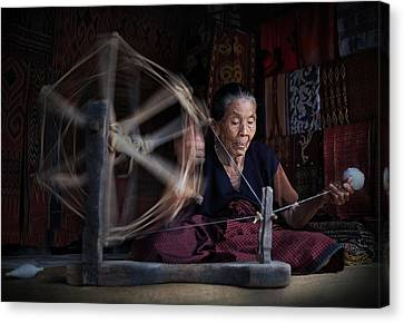 Concentration Canvas Print by Aman Ali Surachman