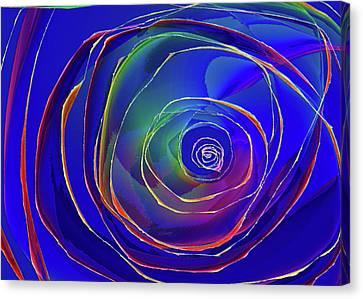 Concentric Canvas Print by Alexis Baranek