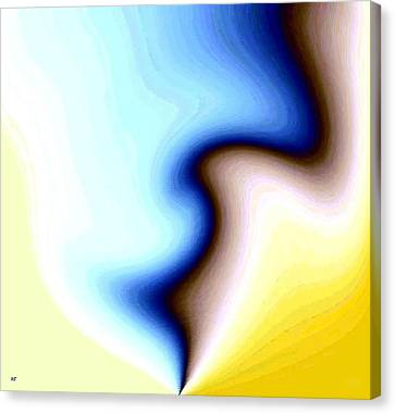 Canvas Print featuring the digital art Conceptual 7 by Will Borden