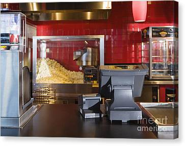 Concession Stand Canvas Print by Andersen Ross
