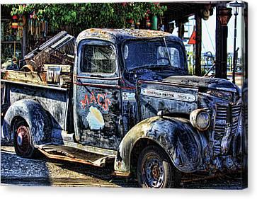 Conch Truck Canvas Print by Joetta West