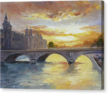 Canvas Print - Conciergerie, Paris by Irek Szelag