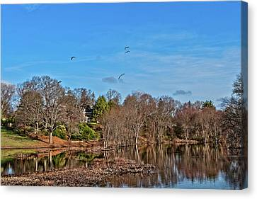 Concord Ma Canvas Print by Larry Richardson