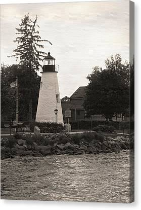 Concord Point Lighthouse Canvas Print by Gordon Beck