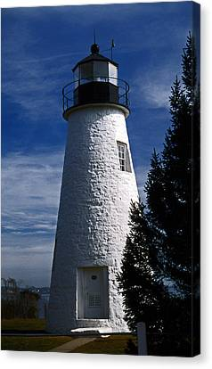 Concord Point Lighthouse Md Canvas Print