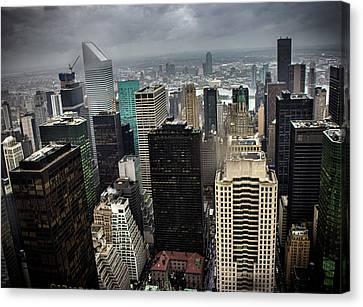 Newyork Canvas Print - Concrete Jungle by Martin Newman