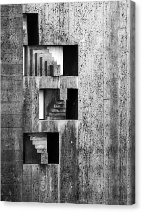 Concrete Undulations Canvas Print by Alan Todd