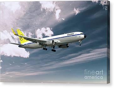 Condor Canvas Print - Condor Boeing 767-300  by J Biggadike