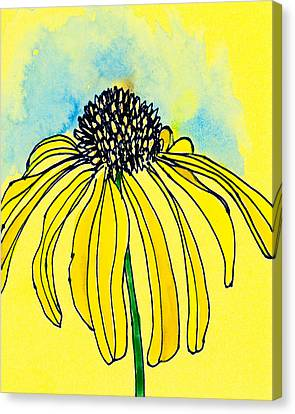 Coneflower Canvas Print by Tonya Doughty