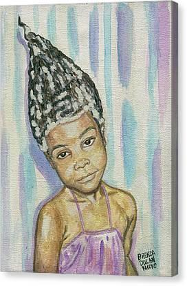 Conehead Canvas Print
